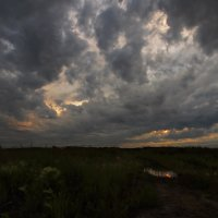 Закрыли небо облака... :: Александр Попов