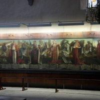 """В церкви Нигулисте. Полотно Бернта Нотке """"Пляска смерти"""" (конец XV в.) :: Елена Павлова (Смолова)"""