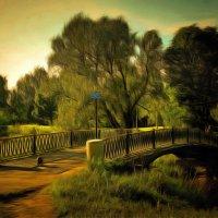 Солнечное свидание на мосту... :: Tatiana Markova