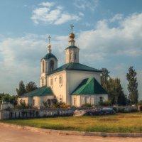 Чамерево,храм  Преображения Господня :: Сергей Цветков