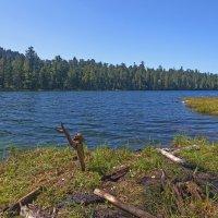 Тёплые озера. Озеро Сказка :: Анатолий Иргл