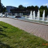 Городской фонтан на бульваре Энтузиастов :: Батыргул (Батыр) Шерниязов