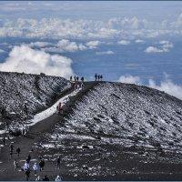 На вершиине вулкана Этна. :: Александр