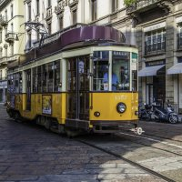Миланский трамвай. :: Tatiana Poliakova