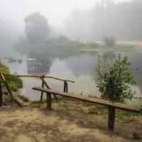 Туманный пляж :: Сергей Корнев