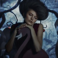 Фламинго и яблоки :: Антон Бегеба
