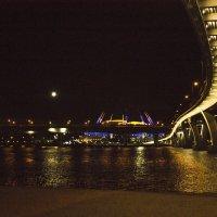 Пешеходный мост к Зенит-арене. :: Senior Веселков Петр