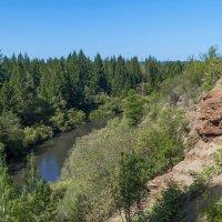 Таежная река Барзас. Кемеровская область :: Владимир Деньгуб