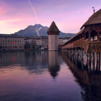 Kapellbrücke und Wasserturm :: Elena Wymann