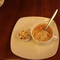 Суп с гренками :: Наталья Золотых-Сибирская