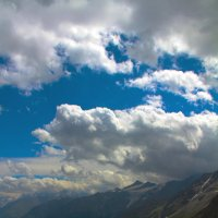 Небо над Эльбрусом :: Нина Маслова