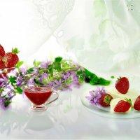 Клубника и мороженое :: Наталия Лыкова