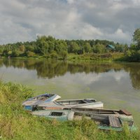 На реке Дубне. :: Виктор Евстратов