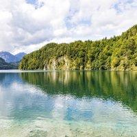 озеро Alpzee, Бавария :: Дмитрий Карышев