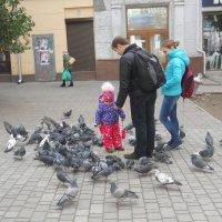 Семья на прогулке :: Галина