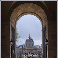 Вид от Лувра на Мост Искусств и Институт Франции. :: Николай Панов