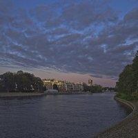 Осень. Большая Невка. :: Senior Веселков Петр