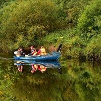Трое в лодке.... :: Татьяна Глинская