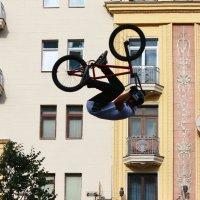 Вело-экстрим на дне города в Москве. (3) :: Николай Кондаков