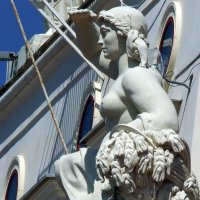 Скульптура морского вокзала Сочи :: Вик Токарев