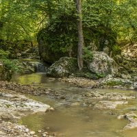Ручей Руфабго в горах Адыгеи :: Игорь Сикорский