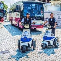 Охранная полиция района Фатих в Стамбуле :: Ирина Лепнёва