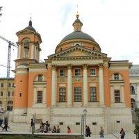 Москва. Церковь Варвары на Варварке. :: Александр Качалин