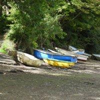 Пейзаж с лодками :: Natalia Harries
