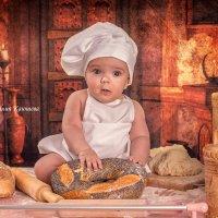 Маленький поваренок Максик :: Наталия Каюшева