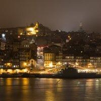 Вид на Порту ночью :: Dimirtyi