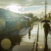 Москва, сентябрь, дождь :: Игорь Герман