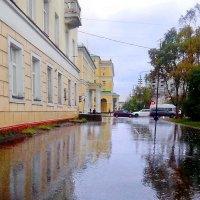 А на улице дождь... Он все льет неустанно. :: Анна Приходько