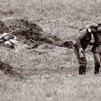 ... Русские на войне своих не бросают ... :: Дмитрий Иншин