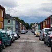 Старая улица Danmarks gate в Осло :: Alex Sash