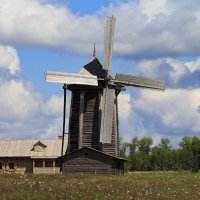 Старая мельница.крутится вертится..... :: Наталья Малкина