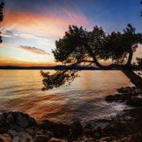 Поздний вечер у моря. :: Sven Rok