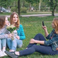 Три подруги :: Ирина Демидова