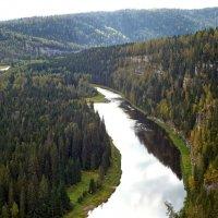 Река Усьва. :: Сергей Комков