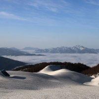 Пастушьи балаганы зимой :: Александр Пиленгас