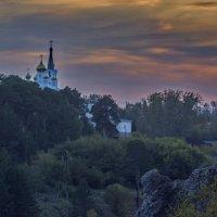 Вечер в горах, уральских. :: Михаил Полыгалов