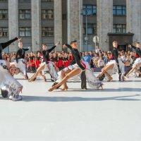 День города. Показательное выступление у здания Государственной Думы (5) :: Борис Гольдберг