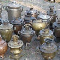 Русские чайные машины:сапокипцы, самогреи, казаны с трубами :: Алекс Аро Аро