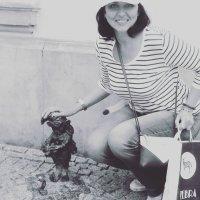 Я с фотографом во Вроцлаве :: Galina Belugina