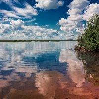 Зеркальное озеро Назаровский район :: Роман