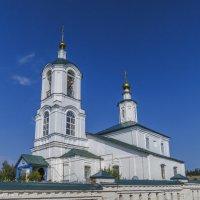 Церковь Преображения Господня в Чамерово :: Сергей Цветков