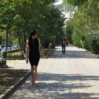 Прогулка по Пушкинской :: Татьяна Смоляниченко
