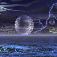***Парад планет или инопланетное вторжение*** :: Юлия Z