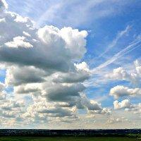 Небо и земля. :: Михаил Столяров