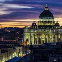 Autumn evening in Rome :: Dmitry Ozersky