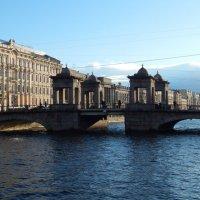 Санкт-Петербург. Мост Ломоносова. :: Лариса (Phinikia) Двойникова